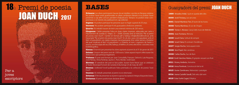 Bases Premis_Joan Duch