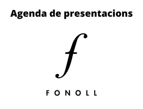 Agenda de Presentacions