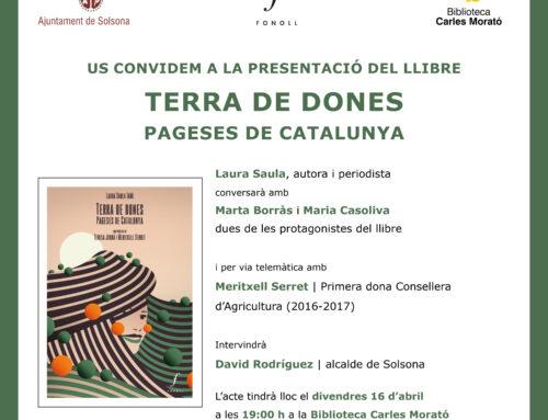 Presentació Terra de dones. Pageses de Catalunya